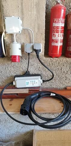 Slika 4 Kućni punjač 16 A 3,6 kW
